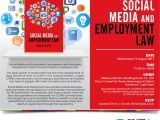 Social Media Party Invitations Invitation to social Media & Employment Law Launch