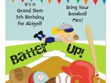 Softball Birthday Party Invitations Personalized softball Sports Invitations