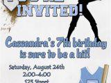 Softball Birthday Party Invitations softball Birthday Party Invitation