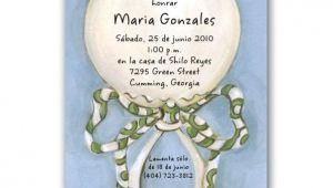 Spanish Baby Shower Invitations Templates Spanish Baby Shower Invitations