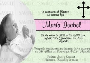 Spanish Baptism Invitation Wording Samples Invitation Wording at Dave and Busters