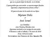 Spanish Birthday Invitation Wording Samples Spanish Wedding Invitation Wording