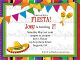 Spanish Party Invitation Template Spanish Birthday Party Invitations Invitation Librarry