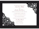 Spanish Party Invitation Template Spanish Lace Wedding Invitations by Invitation