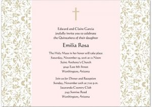 Spanish Wording for Quinceanera Invitations Graduation Invitation Quinceanera Invitations Wording In