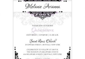 Spanish Wording for Quinceanera Invitations Party Invitation Templates Quinceanera Invitations Wording
