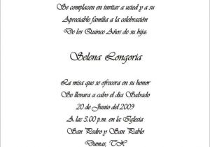 Spanish Wording for Quinceanera Invitations Spanish Quinceanera Invitation Dinner Wording Car Pictures