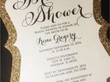 Sparkly Bridal Shower Invitations Bridal Shower Invitation 25 Glitter Bridal Shower
