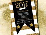Sparkly Graduation Invitations Glitter Graduation Invitation Graduation Invitations Class Of