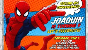 Spiderman Birthday Invitation Template Spiderman Invitation Spiderman Birthday Invitation Free