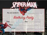 Spiderman Party Invitation Template Impress Your Guests with these Spiderman Birthday Invitations