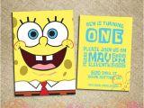 Spongebob Birthday Invitation Ideas 73 Best Images About Spongebob On Pinterest Homemade