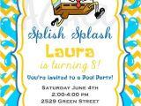 Spongebob Birthday Invitation Ideas Spongebob Pool Party Birthday Invitation Printable by