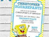 Spongebob Birthday Invitation Ideas top 25 Ideas About Spongebob Squarepants Birthday Ideas On