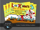 Spongebob Squarepants Invitations Birthday Party Spongebob Squarepants Birthday Invitations Best Party Ideas