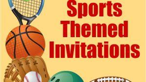 Sports Birthday Invitations Free Printable Free Printable Sports Birthday Party Invitations Templates