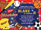 Sports Birthday Party Invitation Wording 8 Best Images Of Printable Sports Birthday Party