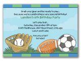 Sports Birthday Party Invitation Wording Sports Birthday Invitations Ideas Bagvania Free