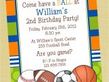 Sports Birthday Party Invitation Wording Sports Printable Birthday Invitation Personalized by