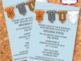 Sports themed Baby Shower Invitation Templates Template Pumpkin Baby Shower Invitations