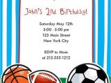 Sports themed Birthday Invitation Wording Download Free Template Sports themed Birthday Party