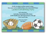 Sports themed Birthday Invitation Wording Sports Birthday Invitations Ideas – Bagvania Free