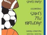Sports themed Birthday Invitation Wording Sports Birthday Party Ideas Boys Party Ideas