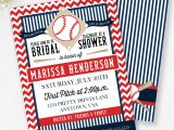 Sports themed Bridal Shower Invitations Baseball Bridal Shower Invitation Baseball Couples Shower
