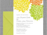 Spring Party Invitation Templates Free Spring Wedding Invitation Petal Clusters Wedding