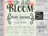 Spring themed Baby Shower Invitations Spring Baby Showers Ideas Girl Show with Spring themed