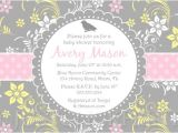 Spring themed Baby Shower Invitations Spring themed Baby Shower Invitations