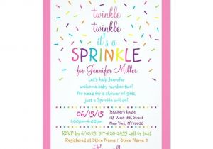 Sprinkle Baby Shower Invitation Wording Best 25 Sprinkle Invitations Ideas On Pinterest