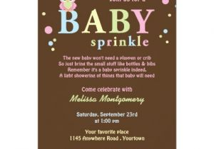 Sprinkle Baby Shower Invitation Wording Pink Owl Baby Sprinkle Invitation
