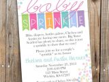 Sprinkle Birthday Invitations 25 Best Ideas About Baby Sprinkle Invitations On