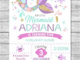 Sprinkle Birthday Party Invitations Baby Shower Invitation Templates Mermaid Birthday