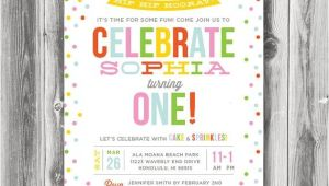 Sprinkle First Birthday Invitations 1000 Ideas About Sprinkle Invitations On Pinterest