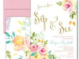 Sprinkle First Birthday Invitations Best 25 Sip and See Ideas On Pinterest