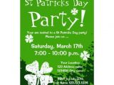 St Patrick S Day Birthday Invitations 1000 Images About St Patrick S Day Invitations On Pinterest