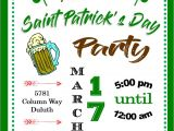 St Patrick S Day Birthday Invitations St Patrick S Day Party Invitations St Patty S Day 2018