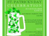 "St Patrick S Day Party Invitations St Patricks Day Celebration Party Invitation 5 25"" Square"