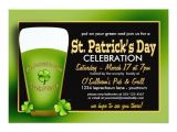 St Patty S Day Birthday Invitations Green Beer St Patricks Day Party Invitations