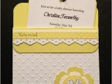 Stampin Up Baby Shower Invitations Pocket Baby Shower Invitations Stampin Up