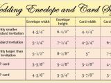 Standard Wedding Invitation Dimensions Wedding Invitation Envelope Size Cobypic Com