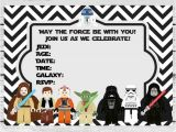 Star Wars Birthday Invitation Template Free 35 Best Images About Fiesta Star Wars Star Wars Party