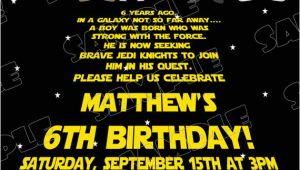 Star Wars Birthday Invitation Template Free Printable Star Wars Birthday Invitations Template