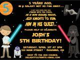 Star Wars Birthday Invitation Template Free Printable Star Wars Birthday Party Invitations Free