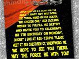 Star Wars Birthday Invitation Template Free Star Wars Birthday Invitations Templates Free Star Wars