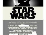 Star Wars Birthday Invitation Template Free Star Wars Invitation Template Best Template Collection