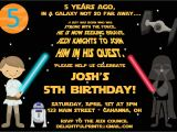 Star Wars Birthday Party Invitation Template Free Printable Star Wars Birthday Party Invitations Free