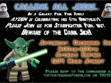 Star Wars Birthday Party Invitation Template Star Wars Birthday Invitations Template Free Invitations